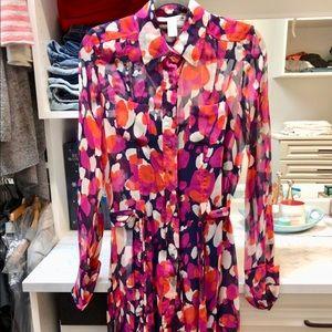 DVF shirt dress